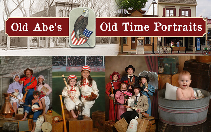 Old Abe's Old Time Portraits
