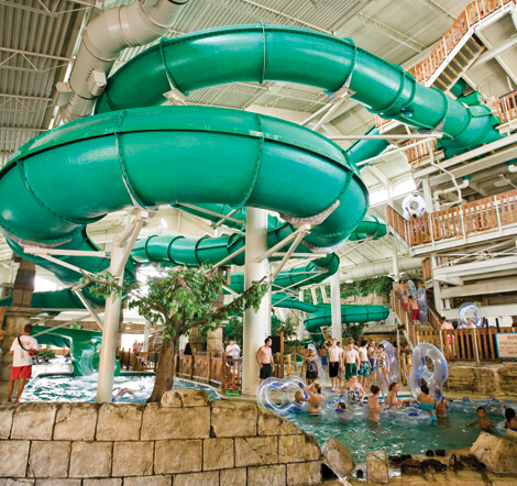 Mt. Olympus Resort Indoor Water Park