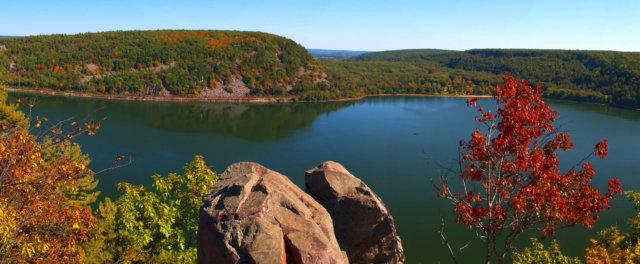 Devil's Lake State Park in Wisconsin