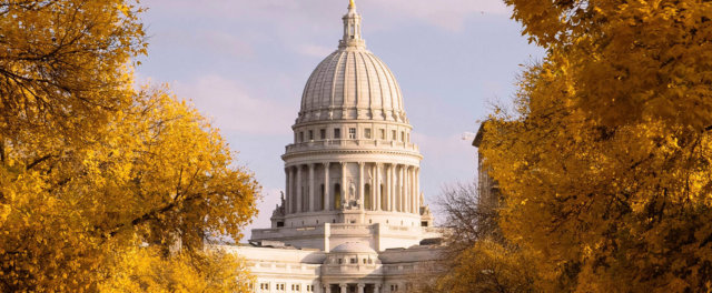 Wisconsin capital building