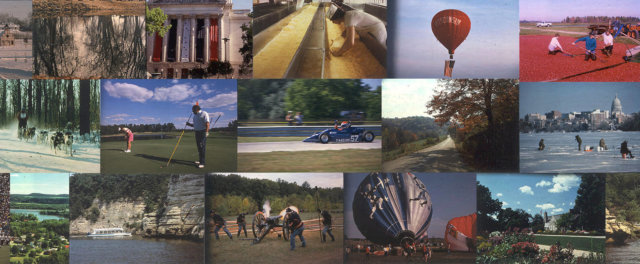 A collage of images from Wisconsin