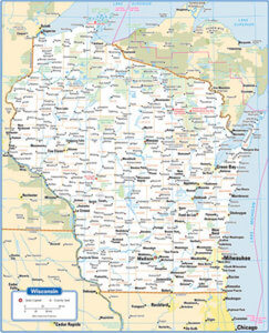 Map Of Wisconsin Wisconsin Deals Coupons Complete Trip - Map of wisconsin with cities
