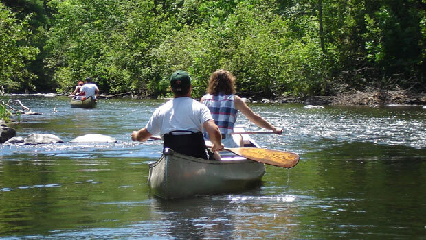 Washburn County offers many great activities, including canoeing