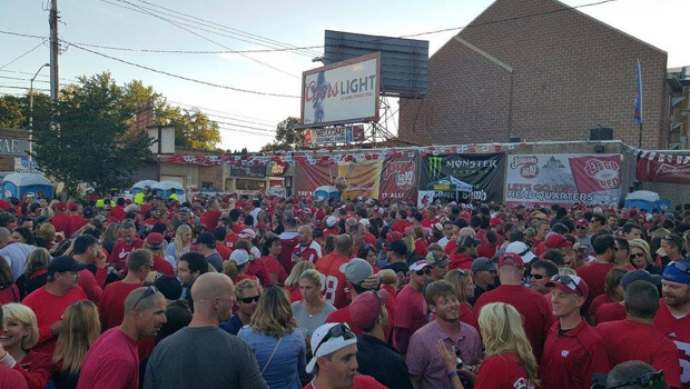 Badger Football Tailgating