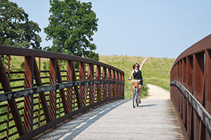 Biking a Wisconsin Trail