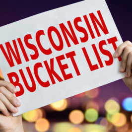 Wisconsin Bucket List Sign